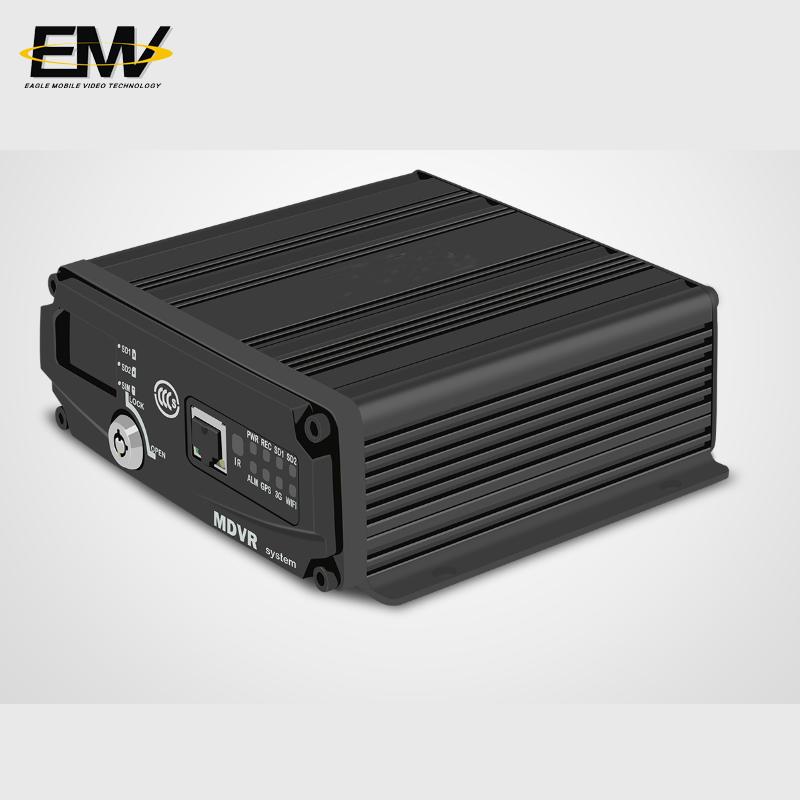 4CH 720P Dual SD Card 2x256GB SD Card MDVR EMV-SC1101