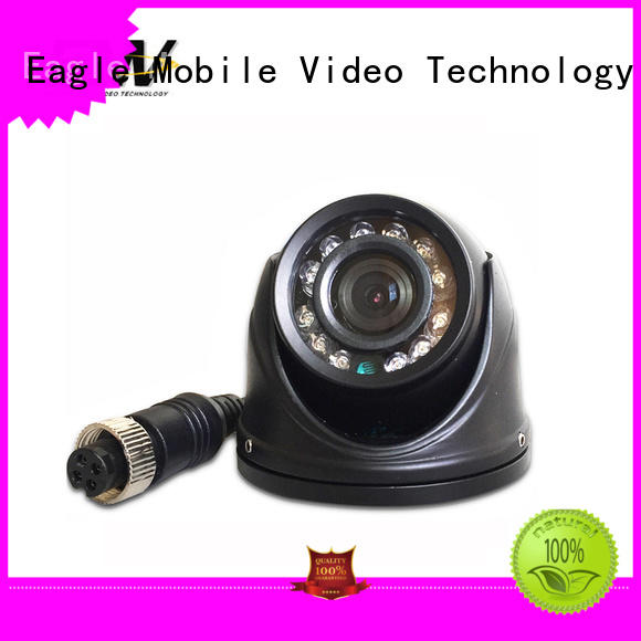 Eagle Mobile Video side vandalproof dome camera popular for law enforcement