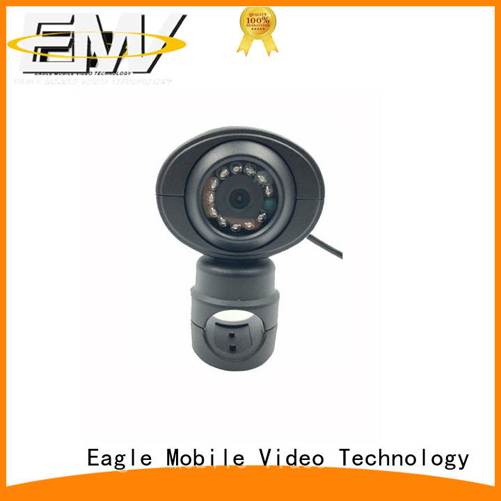 waterproof vandalproof dome camera side for police car Eagle Mobile Video