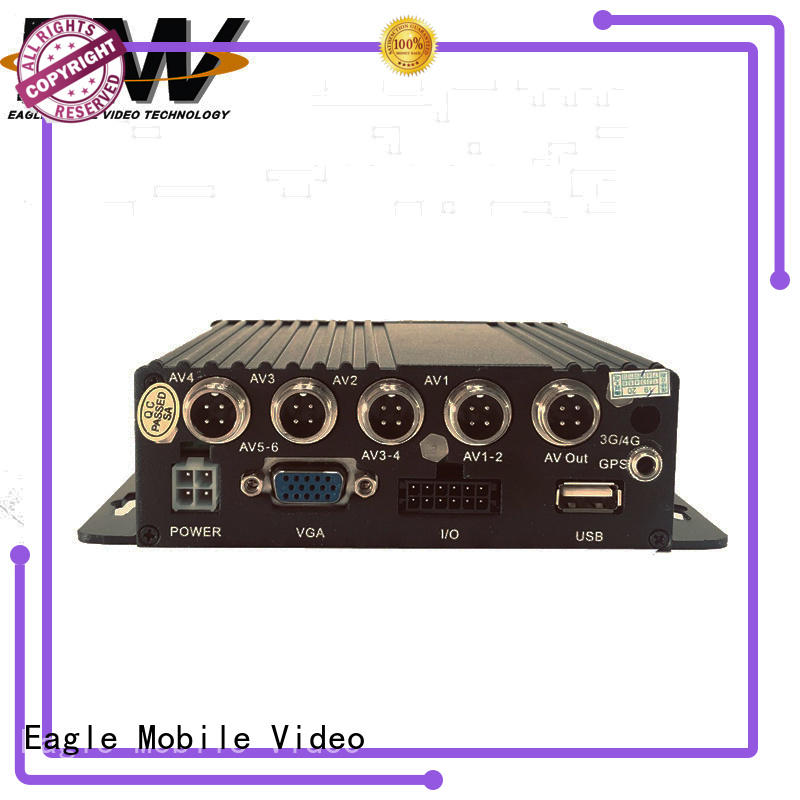 Eagle Mobile Video dual mobile dvr factory price for police car