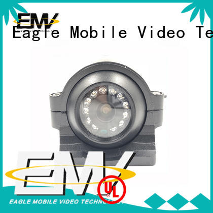 POE 960P 720P IP Truck Fleet Side View Camera EMV-012I