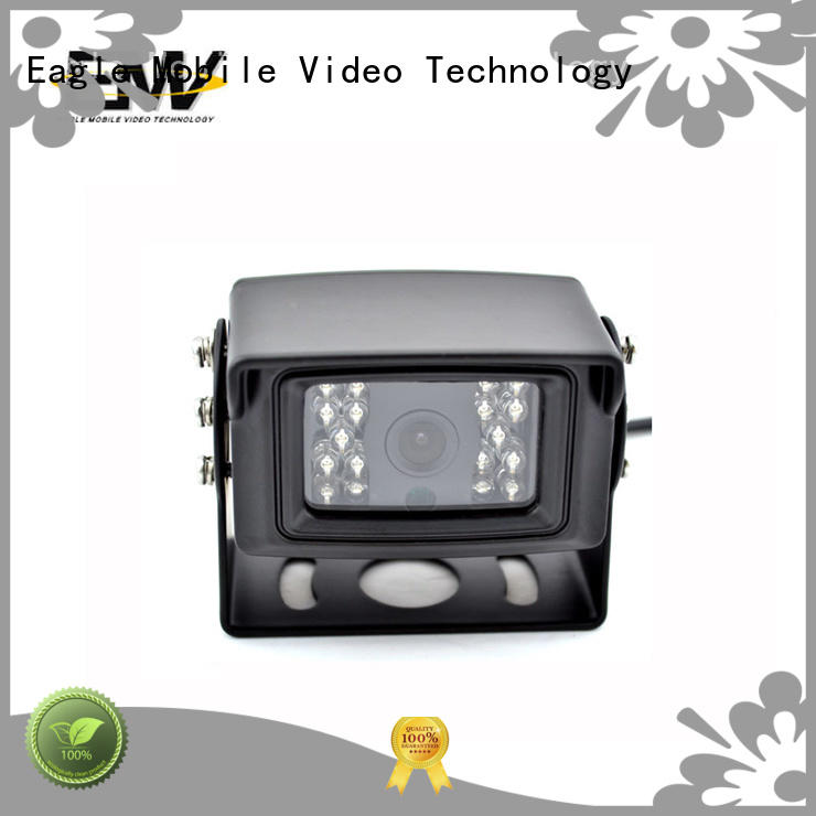 Eagle Mobile Video low cost ip dome camera sensing for buses