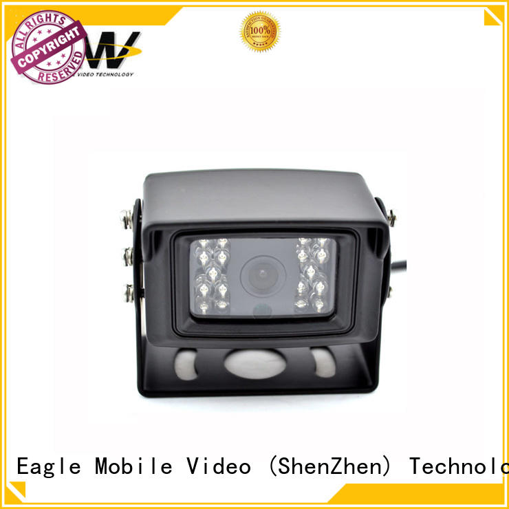 Eagle Mobile Video rear IP vehicle camera for delivery vehicles