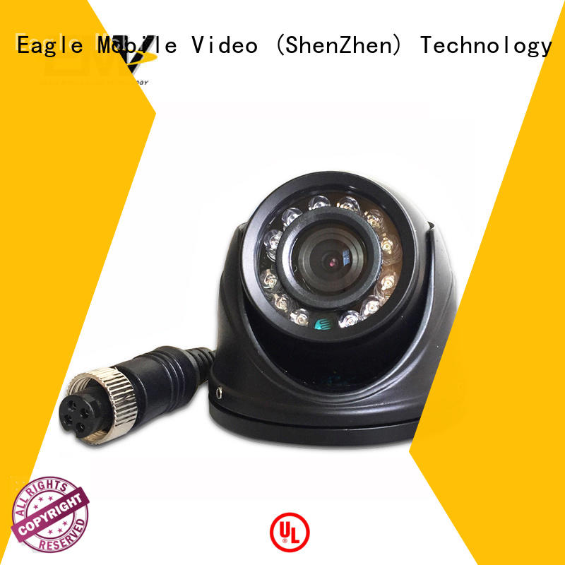 Eagle Mobile Video bus vandalproof dome camera experts for buses