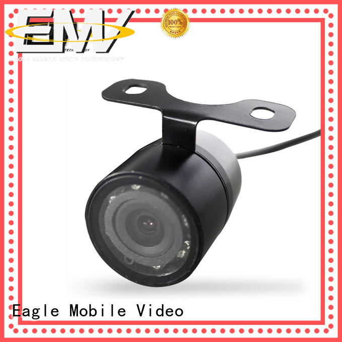 low cost car security camera view for train