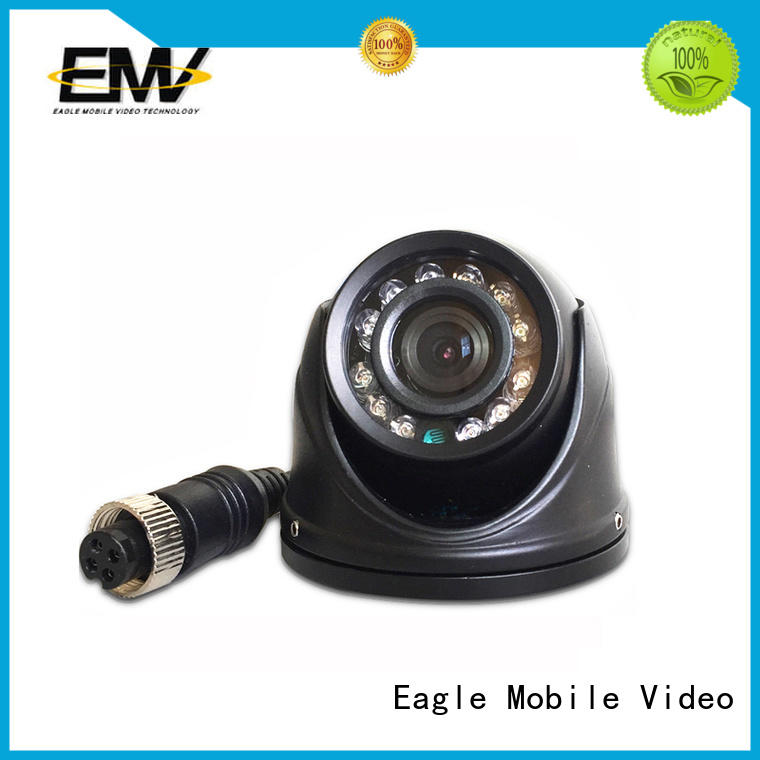 adjustable vehicle mounted camera view for ship